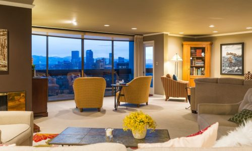 LIV SIR lists signature 21st floor condo in Cheesman Park's tallest building