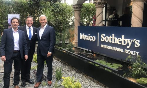 LIV SIR Attends Grand Opening of Mexico Sotheby's International Realty