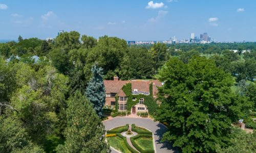 Beautiful remodel with historic charm in a remarkable estate in Denver Country Club