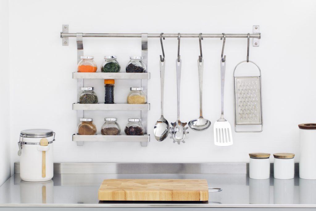 home organization in the kitchen