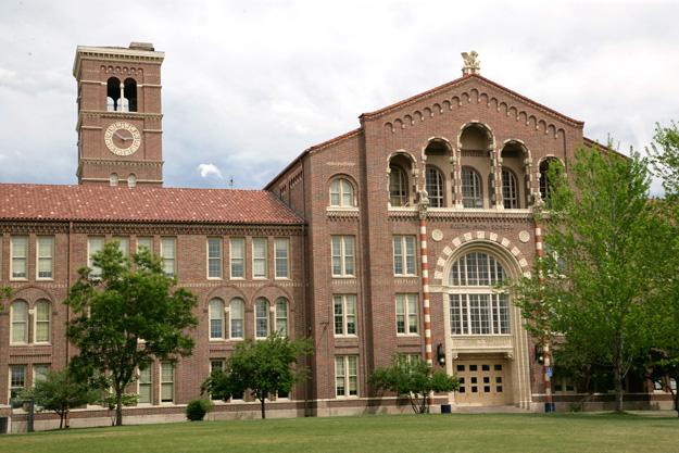 South High School in Washington Park