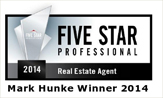 Mark Hunke 5 Star Professional Real Estate Agent