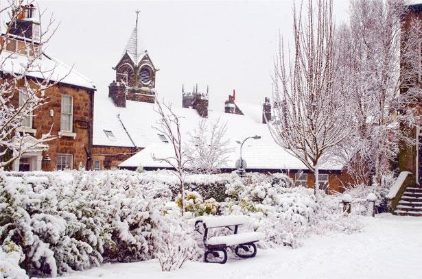 A Snow-Bound Colorado Home