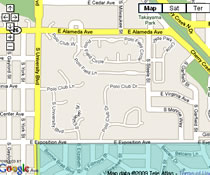 View Bonnie Brae & Belcaro Interactive Map