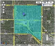 View Cherry Creek Interactive Map
