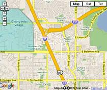 Cherry Hills Map