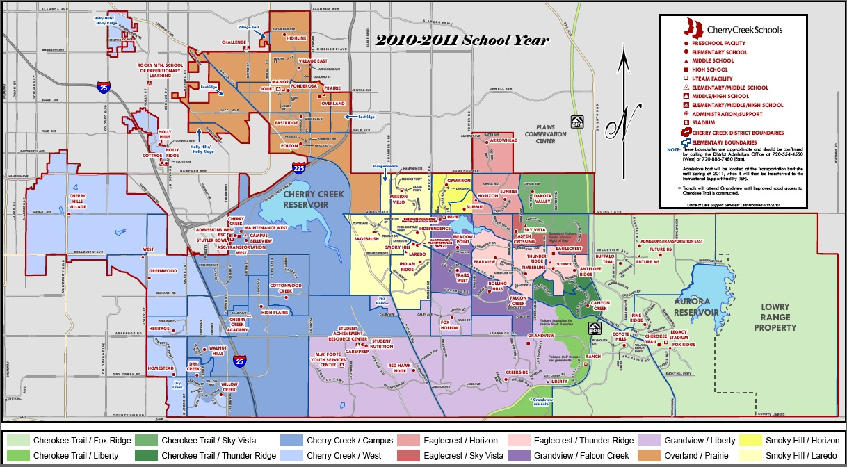 Cherry Creek School District Map Aurora buyers, is Cherry Creek school district the safe bet