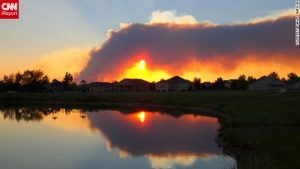 Colorado Wild Fires blazing