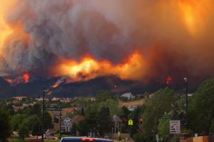 Colorado wild fires are raging