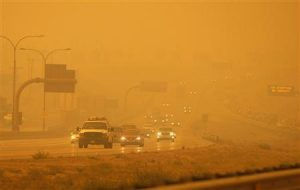 Highways from Colorado wildfires