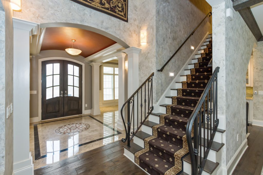 Country French luxury entry carmel