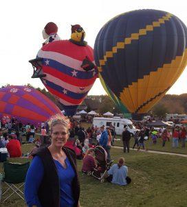 FALL FESTIVALS: HOT AIR BALLOONS & CELEBRATING CLIENTS