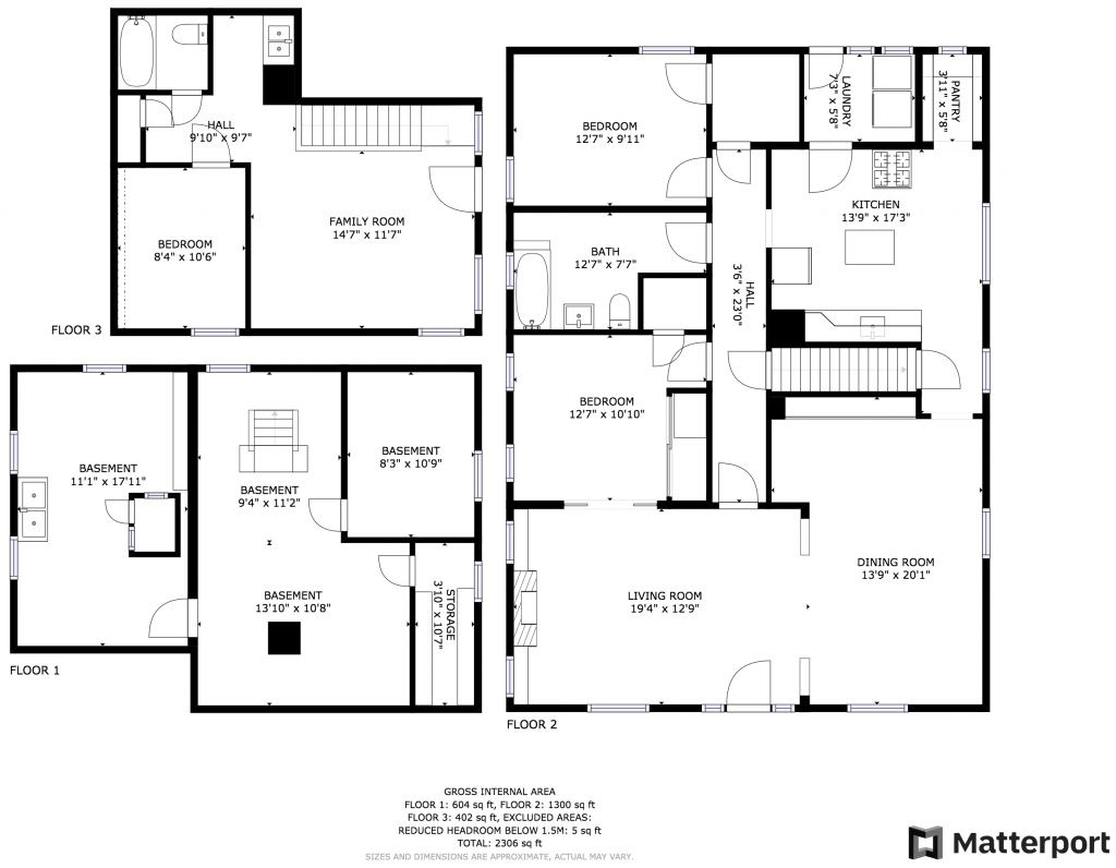 1128 Colorado Blvd. Floor Plan