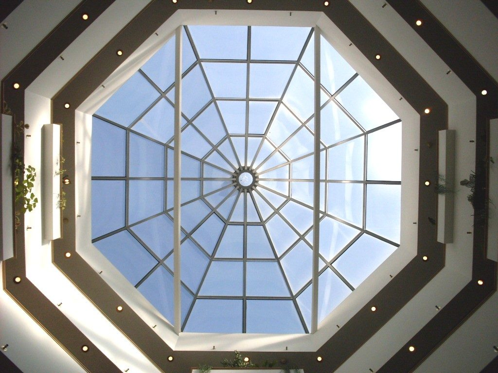 Atrium Skylight at Heather Gardens