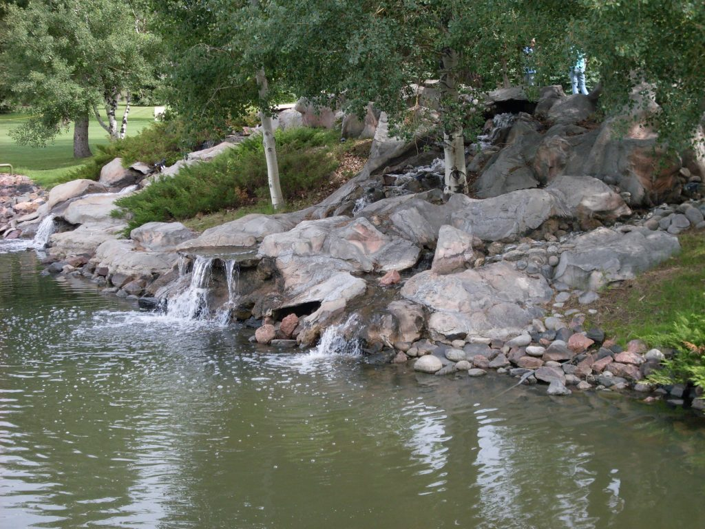 Heather Gardens Waterfall
