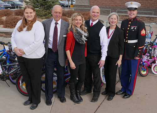 HG Staff with Marine Corps Sgt. Marshall Stertz