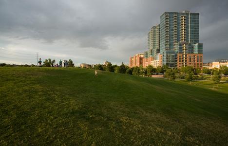 Riverfront Park in Denver, CO