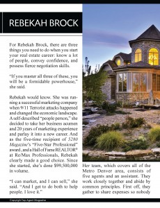 Top Agent Article Page 2 230x300 Top Agent Rebekah Brock